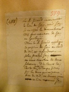 L'Archive du mardi #6 : Un catalogue des notes géographiques