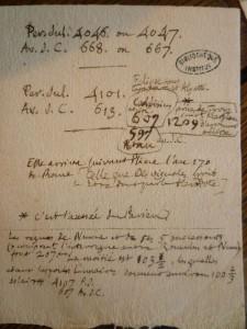 L'Archive du mardi #8: des notes manuscrites à la Bibliothèque de l'Institut
