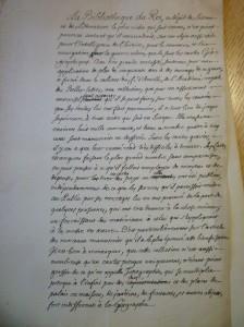 L'Archive du mardi 20#: quatre documents relatifs au projet de cession de la collection